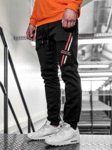 Pánske tepláky Turin SB black /red