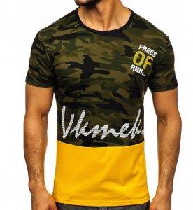 Pánske tričko RNB khaki