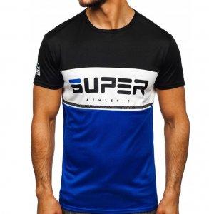 Pánske tričko S-Athle black/blue