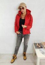 Dámska bunda Zewa red