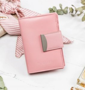 Dámska peňaženka RFID Caval pink