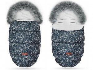 Detský fusak MIMI Snowflake blue