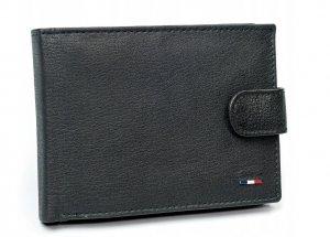 Pánska kožená peňaženka Ronaldo FRA čierna