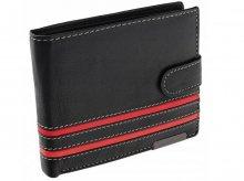 Pánska peňaženka Alfa black/red