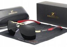Pánske slnečné okuliare K7 black/red