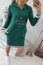 Šaty BRONY zelené  UNI