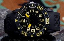 Infantry Rotal black/yellow pánske hodinky_1