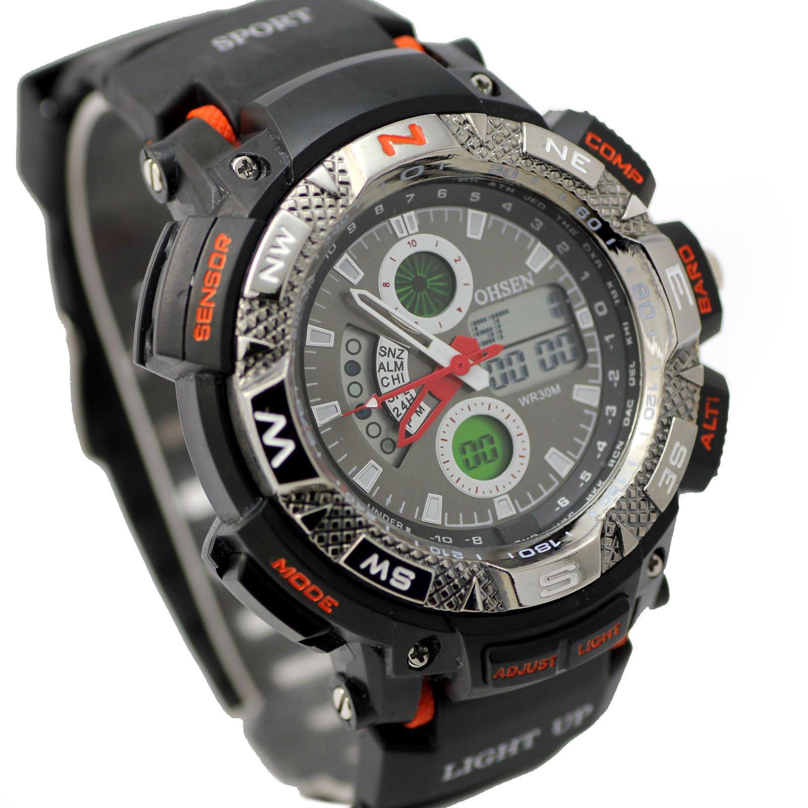Pánske športové hodinky steel Ohsen 645d6e5903e