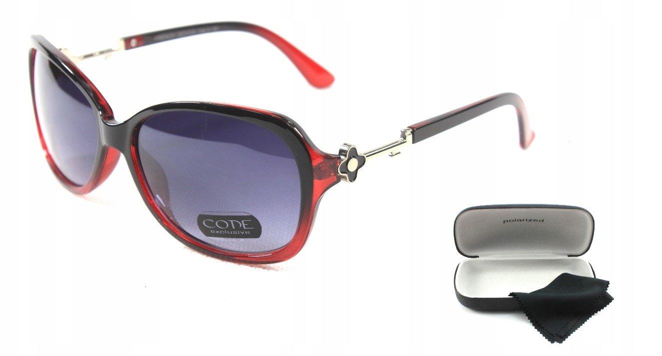 7882065de Dámske slnečné okuliare PZD flower red+ puzdro