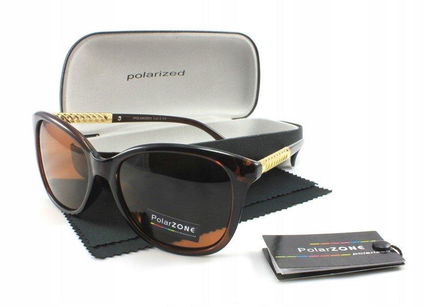 d37a333ac Dámske slnečné okuliare TSW brown/gold + puzdro
